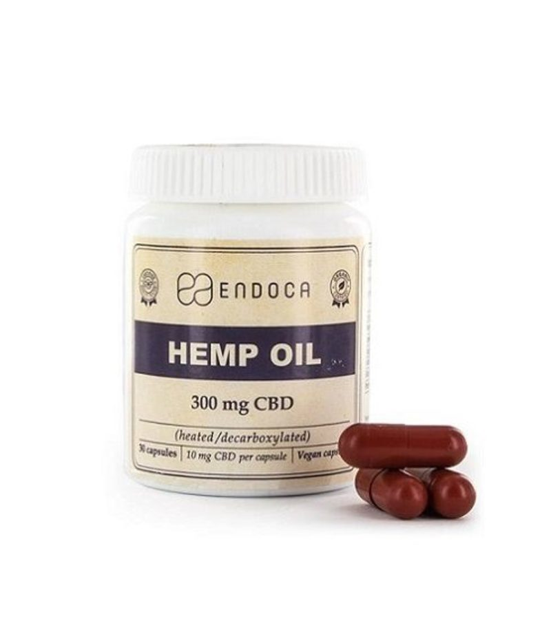 3% CBD Oil in capsules