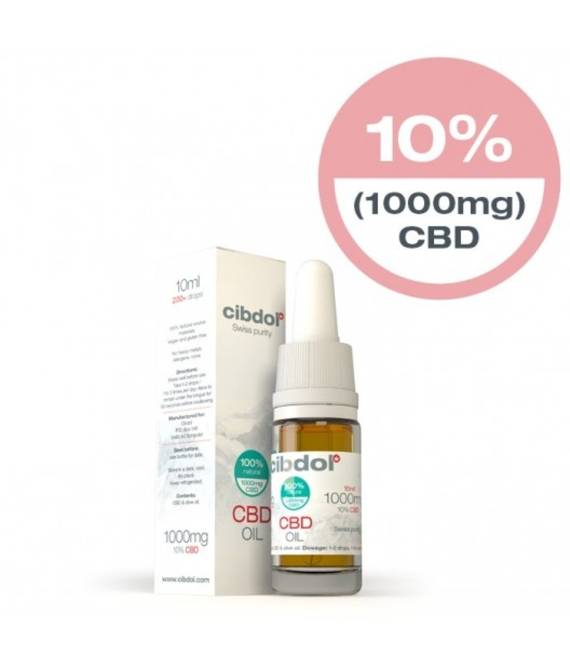 Strong CBD Oil 1000mg 10ml