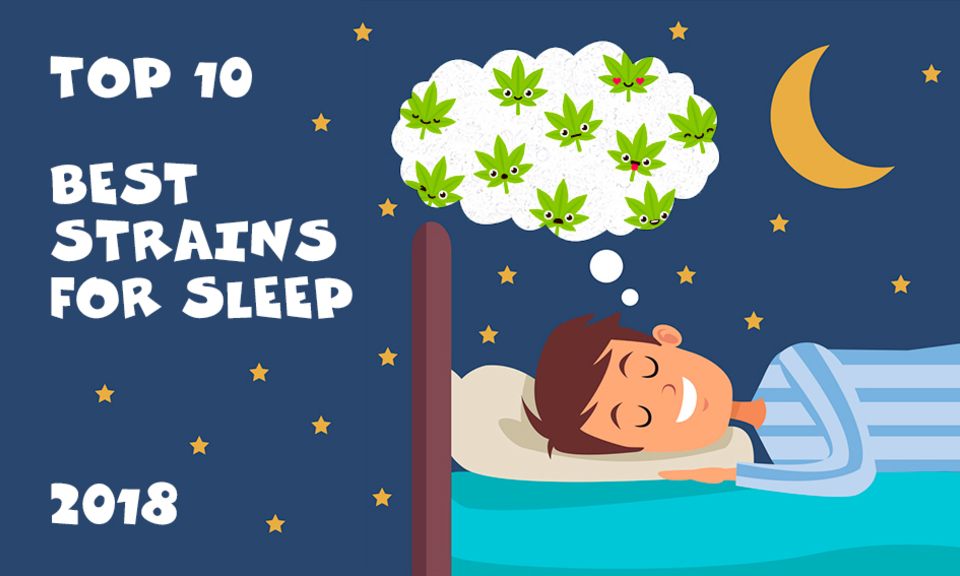 Top 10 Best Strains For Sleep 2018