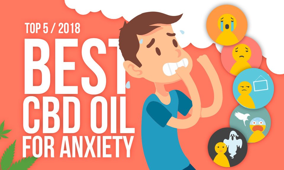 Top 5 Best CBD Oil For Anxiety and Panic Attacks 2018